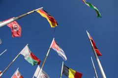 Flags of the world Stock Image
