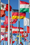 Flags of the world Royalty Free Stock Image