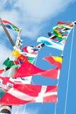 flags world στοκ φωτογραφίες
