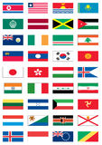 Flags of the world 4 of 8 Stock Photos