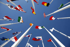 Flags of the World 5 stock image