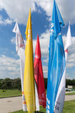 Flags of World Youth Day 2016 Royalty Free Stock Images