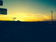 Flagstaff ηλιοβασίλεμα Στοκ εικόνα με δικαίωμα ελεύθερης χρήσης