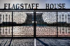 Flagstenga dom - Prezydencki pałac Ghana Obraz Royalty Free