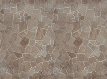Flagstone sandstone paving seamless texture map for 3d graphics Royalty Free Stock Photography