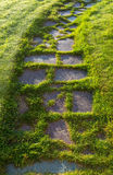 Flagstone Walkway Royalty Free Stock Photography