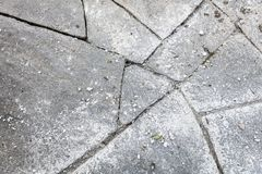 Flagstones needs to be grout. Topview of flagstones that need to be grout Royalty Free Stock Photo