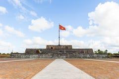 Flagtower на имперском городе оттенка Стоковая Фотография RF