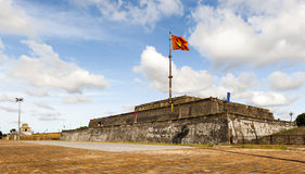 Flagtower at Imperial City of Hue Stock Photo