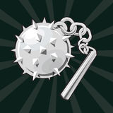 Flail icon Royalty Free Stock Photos