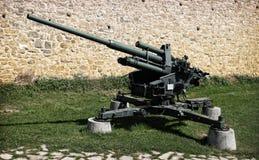 Flak 38. A Flak 38 105 mm anti-aircraft gun at a Military museum in Belgrade Stock Photo
