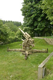 Flak 88 Anti-aircraft cannon. In Normandy Stock Photography