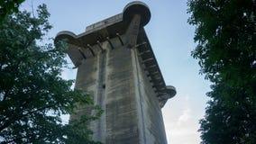 Flak Tower in Vienna. Flak Tower in Augarten Park in Vienna Royalty Free Stock Photos