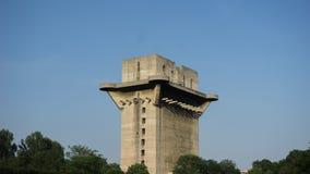 Flak Tower in Vienna. Flak Tower in Augarten Park in Vienna Stock Photo