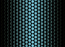 Flake blue gradient pattern. Royalty Free Stock Image