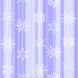 Flake winter seamless pattern Royalty Free Stock Image
