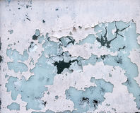 Flaked paint surface. Of old window glass, grunge background Royalty Free Stock Images