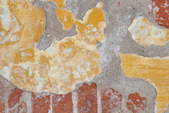 Flaked paint texture. Of old wall Royalty Free Stock Image
