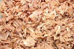 Flaked tuna Royalty Free Stock Photo