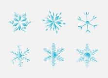 Flakes. Illustration of flakes, six, winter, snow royalty free illustration