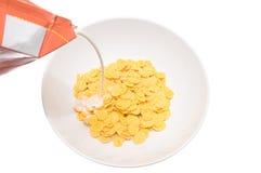 Flakes corn Stock Photo