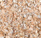 Flakes of oatmeal close up. Royalty Free Stock Photography