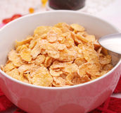 Flakes with Sugar Royalty Free Stock Image
