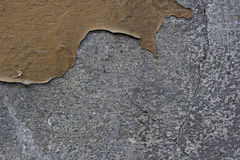 Flaking color on a wall Royalty Free Stock Photos