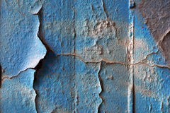 Flaking off color Stock Photo