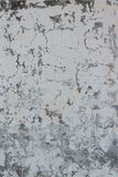 A Flaking Off White Concrete Wall Royalty Free Stock Image