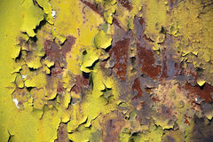 Flaking paint Royalty Free Stock Photos