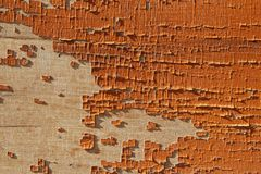Flaking paint background Royalty Free Stock Photography