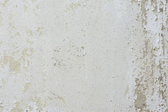 Flaking paint on a wall. Stock Image