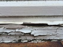 Flaking paint Royalty Free Stock Photo