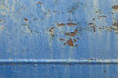 Flaking paintwork Royalty Free Stock Images