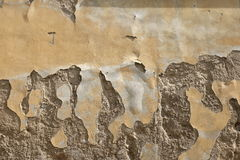 Flaking plaster Royalty Free Stock Photo