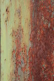 Flaking and rust Stock Images