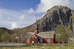Flakstad Kirke Stock Photos
