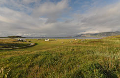 Flakstad, Lofoten, Norwegen Stockfotografie
