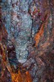 flaky металл ржавый Стоковая Фотография RF