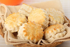 Flaky Biscuits Stock Images
