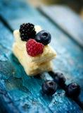 Flaky cake Stock Images