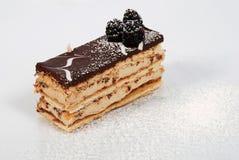 Flaky chocolate cake 3 Stock Images