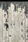 Flaky paint on wood. Stock Photos