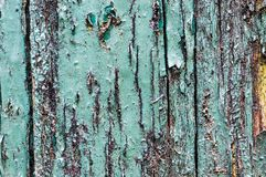 Flaky paint wooden texture Stock Photography