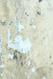 Flaky painted background. Flaky painted yellow metal grungy background texture Royalty Free Stock Photo