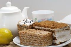 Flaky sweet pastry Stock Photo