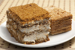 Flaky sweet pastry Stock Image
