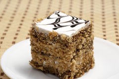Flaky sweet pastry Royalty Free Stock Photo