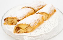 Flaky Swiss roll Royalty Free Stock Photography